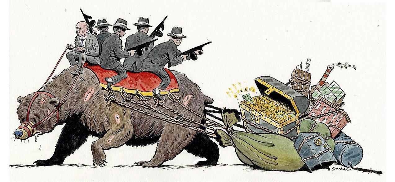 How to Stop Vladimir Putin's Mafia